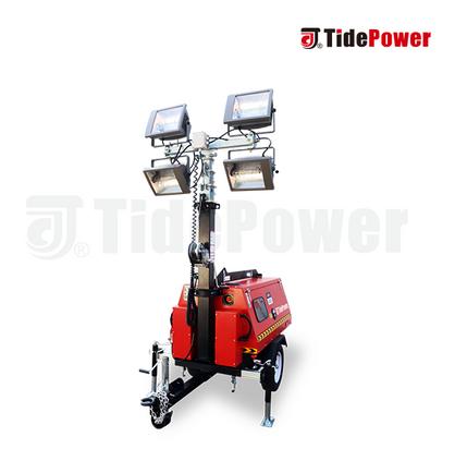 Hydraulic Light Tower (Metal Halide)