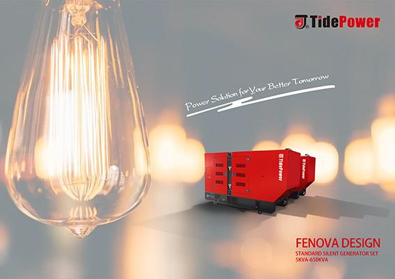 Générateur diesel Tide Power - Série FENOVA