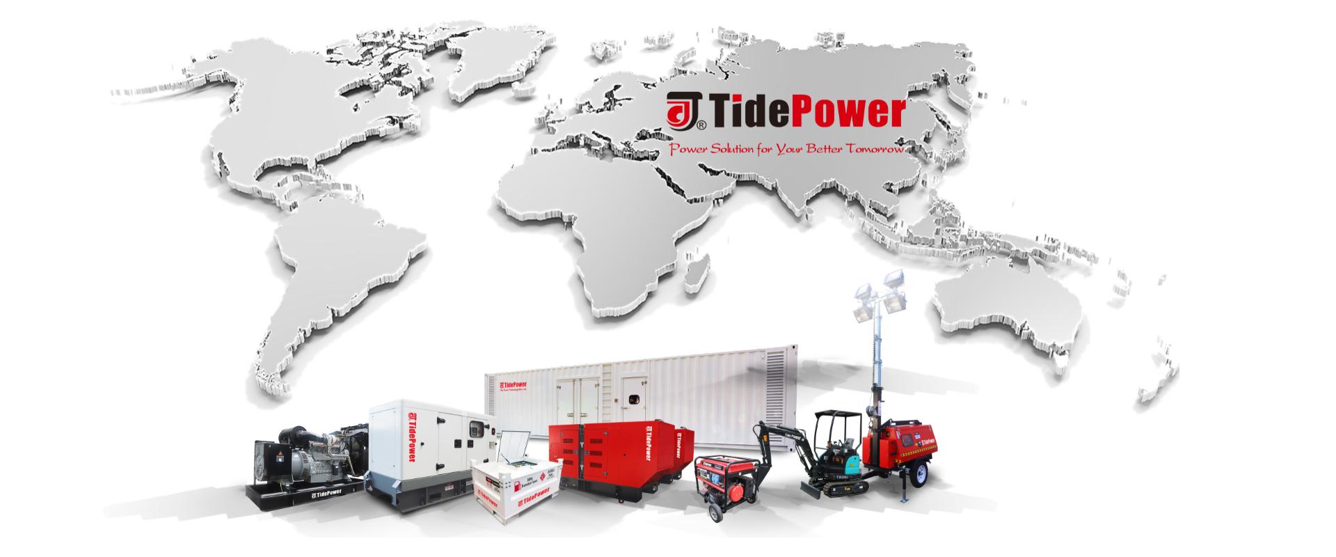 tidepower,diesel generator,standby power